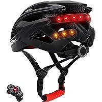 livall BH60SE2018 Smart bicicleta Bluetooth Casco manillar inalámbrico con mando a distancia, Unisex, 55-61 cm, Negro