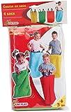 Kim'Play - 12600 - Jeu de Plein air et Sports - Kit 4 Sacs de Course