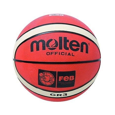 MOLTEN BGR3-OI Balón de Baloncesto, Unisex niños, Naranja, 3 ...