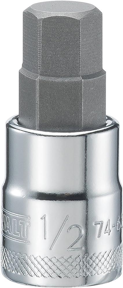 1//2 Hex Key Socket//Bit 3//8 Drive Imperial AF SAE 6 Sided Allen Key 48mm Cr-V