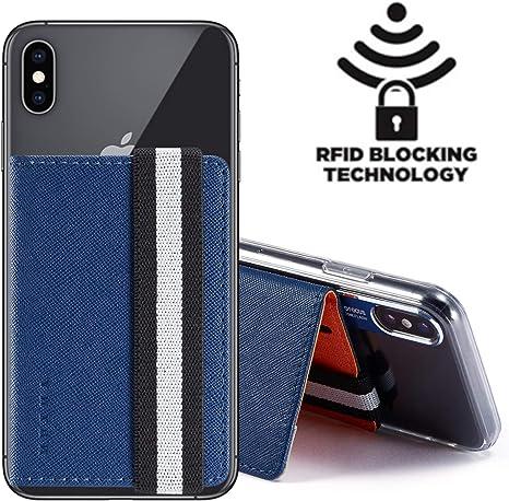 Amazon.com: RFID Monet - Funda de piel sintética con tapa y ...