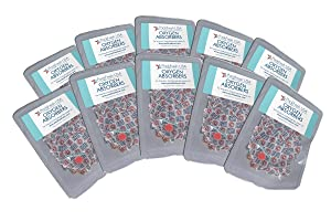 300cc Oxygen Absorbers in 10 Packs with PackFreshUSA LTFS Guide (100)