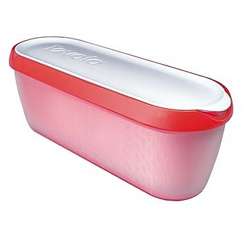Tovolo Glide A Scoop Ice Cream Tub   Strawberry Sorbet