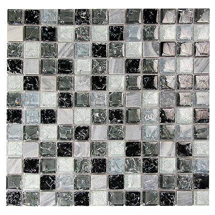 Gris 1 X 1 (Cristal en mosaico 714f74ba3f0e
