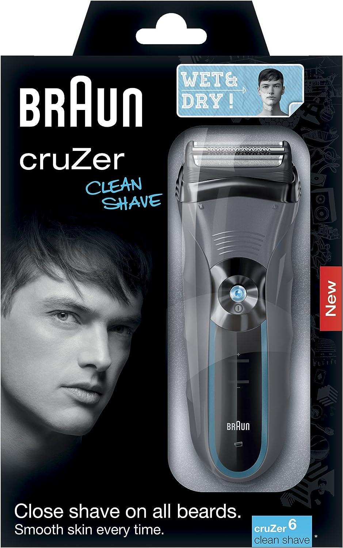 Braun cruZer6 Clean Shave - Afeitadora eléctrica con tecnología ...