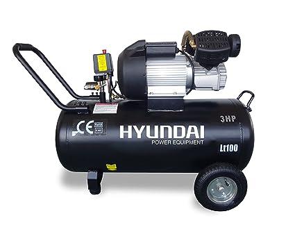 Hyundai HC100L - 100L compresor de aire fluya a 360 L / min