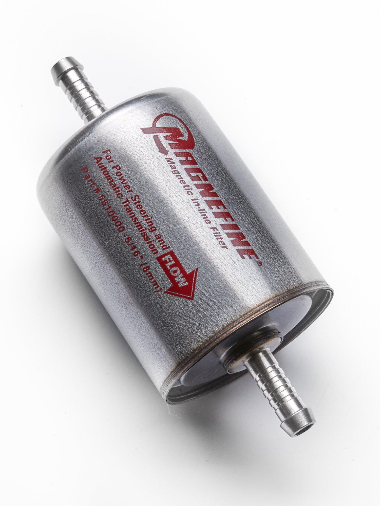 Magnefine 5/16'' Magnetic Inline Transmission Filter