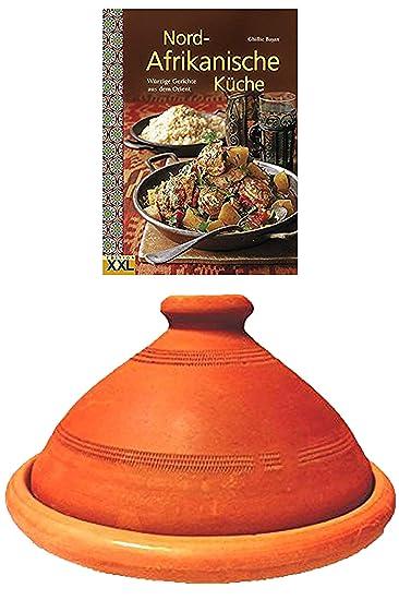 Afrikanische Küche   Tajine Original Aus Marokko Inklusive Kochbuch Nord Afrikanische