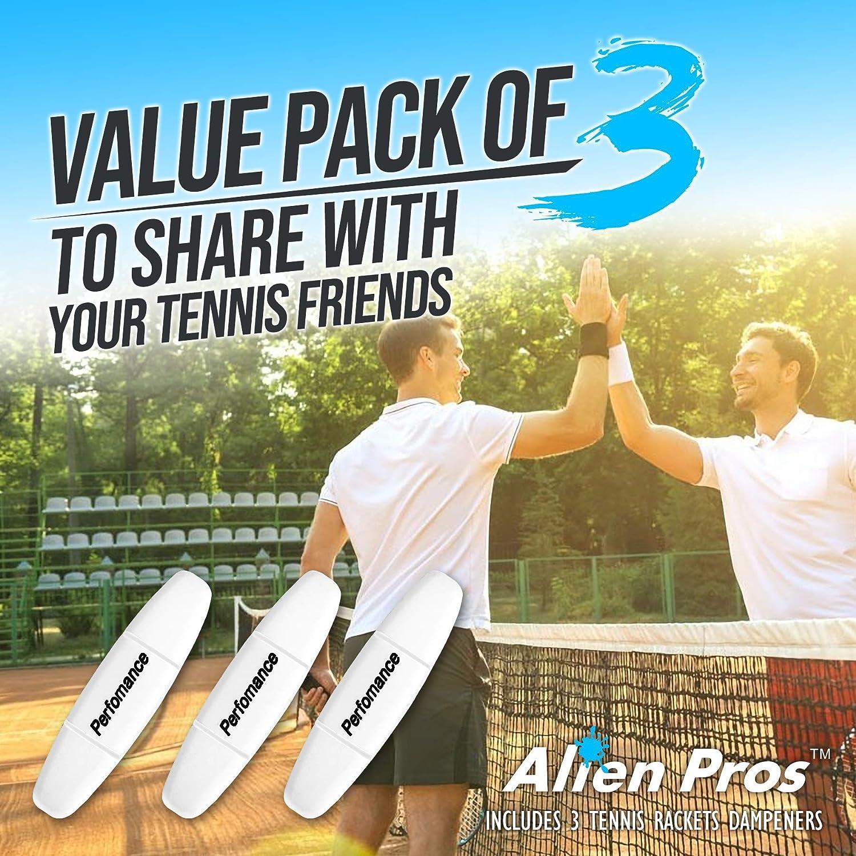 Alien Pros Performance - Juego de 3 Raquetas de Tenis (3 ...