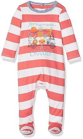 Catimini CJ54041, Pelele para Dormir para Bebés, Amarillo (Sorbet 77), 0