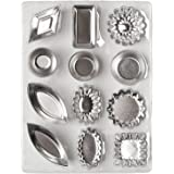 Amazon.com: Individual Flan Molds Set of 6. Stainless Steel ...