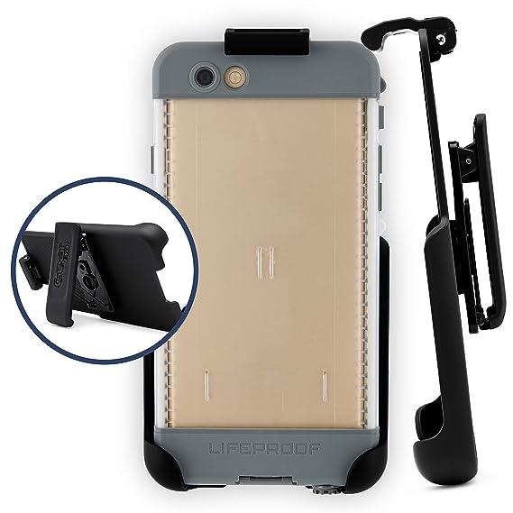 sale retailer 3fc6e d32e0 Belt Clip Holster Compatible with LifeProof NUUD Case iPhone 6 Plus 5.5