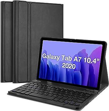 ProCase Funda con Teclado Inglés para Galaxy Tab A7 10.4