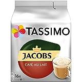 Tassimo Jacobs Café Au Lait Classico咖啡 5包 T Discs胶囊 (5 x 16 个)
