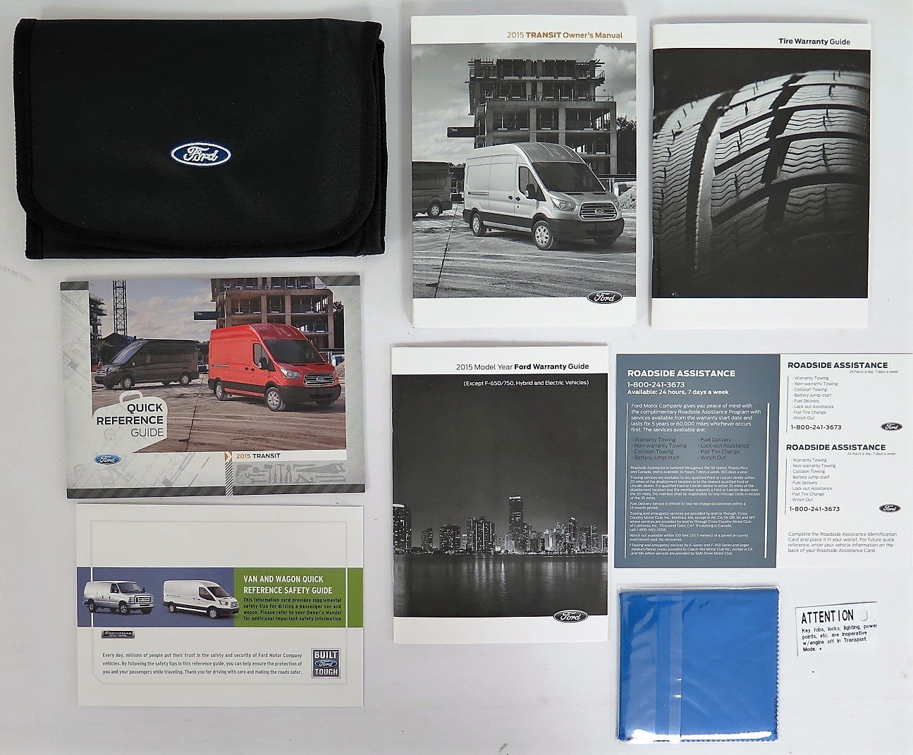Amazon.com: 2015 Ford Transit Owners Manual with Case Book Set NEW:  Automotive