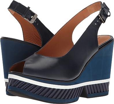 8c262775790f Amazon.com  Robert Clergerie Women s Dallan Navy Calf 41 M EU  Shoes