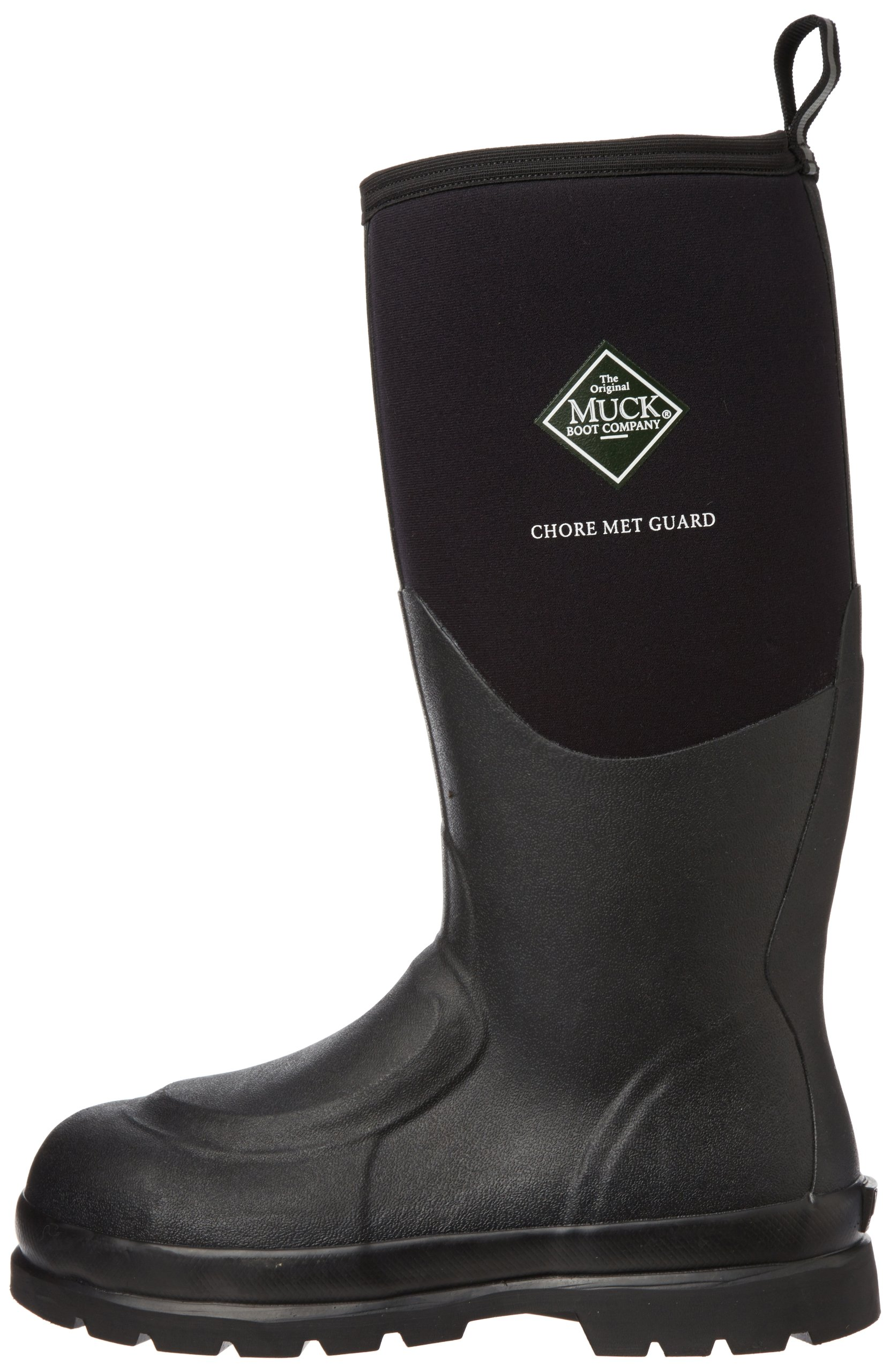 MuckBoots Men's Chore Safety Toe Metatarsal Work Boot,Black,10 M US by Muck Boot (Image #5)