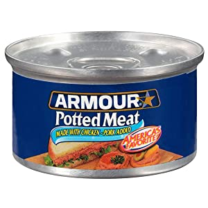 Amour Star Potted Meat, Canned Meat, 3 OZ (Pack of 48)