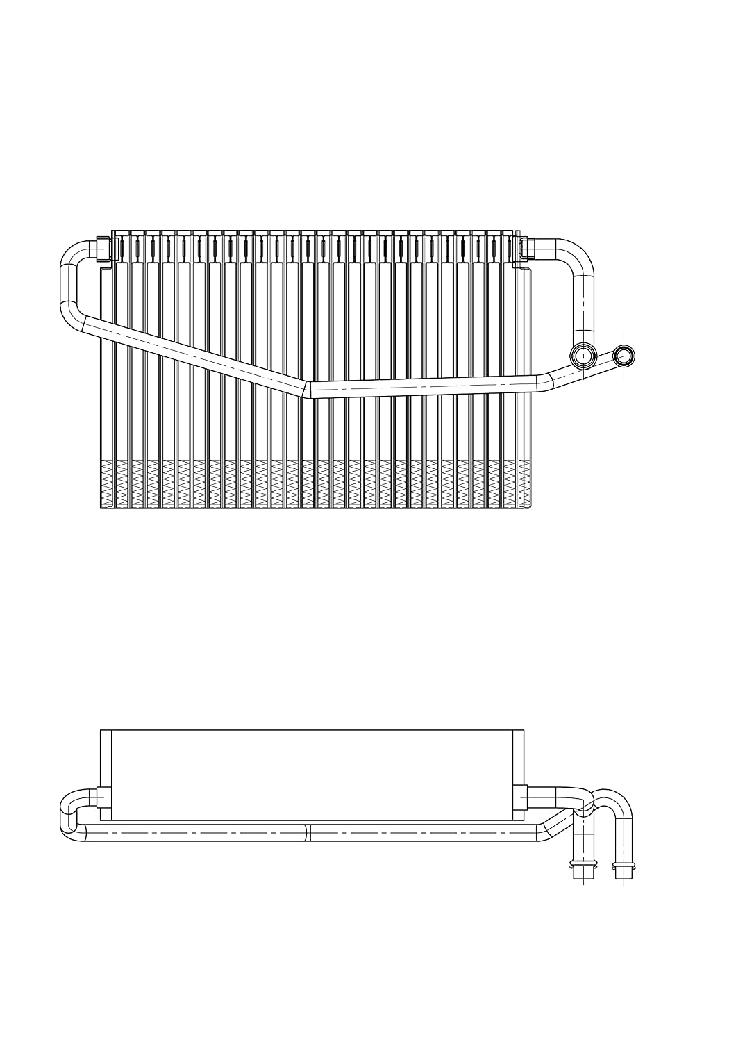 TYC 97142 Mercedes-Benz Replacement Evaporator