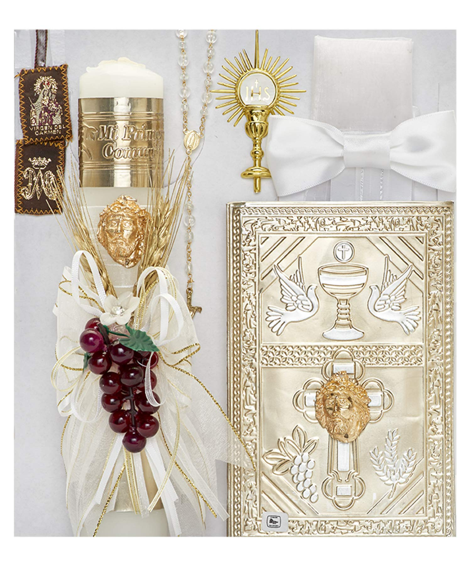 Cocochildren.com Mx-181C Granada First Communion Candle Set