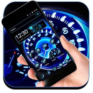 Amazoncom Futuristic Speedometer Theme Live Wallpaper