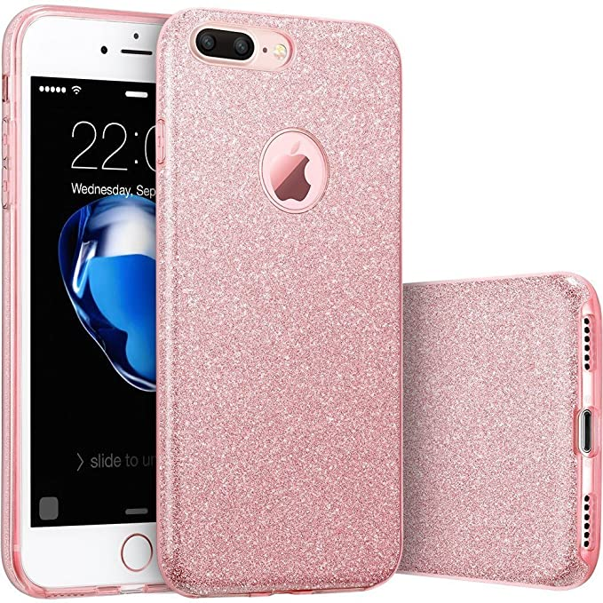 Amazon.com: iPhone 7 Plus teléfono celular, [Glitter ...
