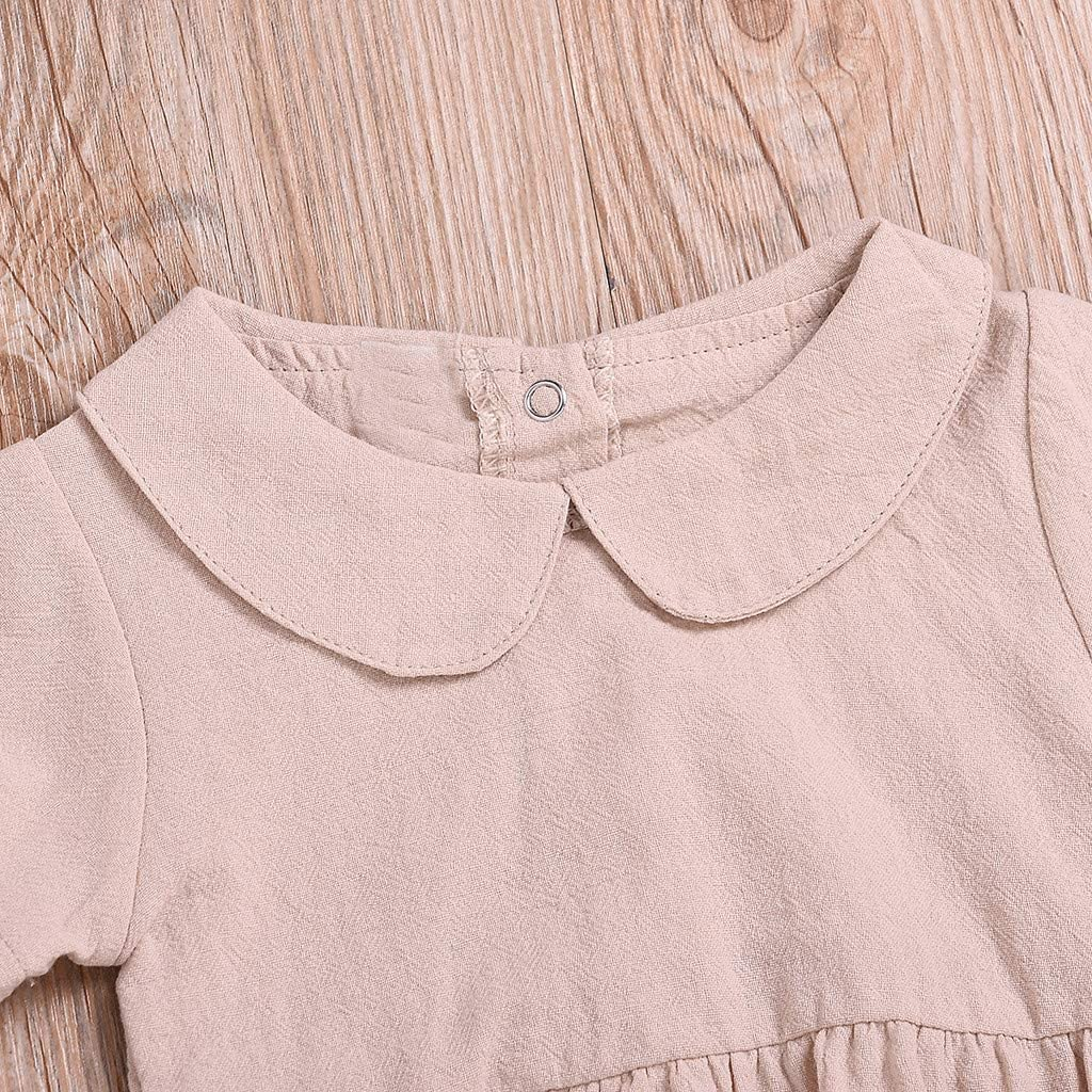 0-18Months,SO-buts Infant Newborn Baby Girls Bodysuit Rompers Outfits Jumpsuit Summer Clothes