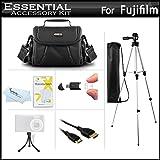 Starter Accessories Kit For The Fuji Fujifilm Finepix S8200, S8300, S8400, S8500, S6700, S6800 S6900 S4600 S4700 S4800, S8600, S9200, S9400W, S9800, S9900W Digital Camera Includes Case + Tripod + More