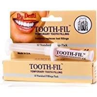 Dr Denti Tooth Fill 3g Temporary Filling Dental Hole Filler Repair Kit Instant Care Cement Capsules