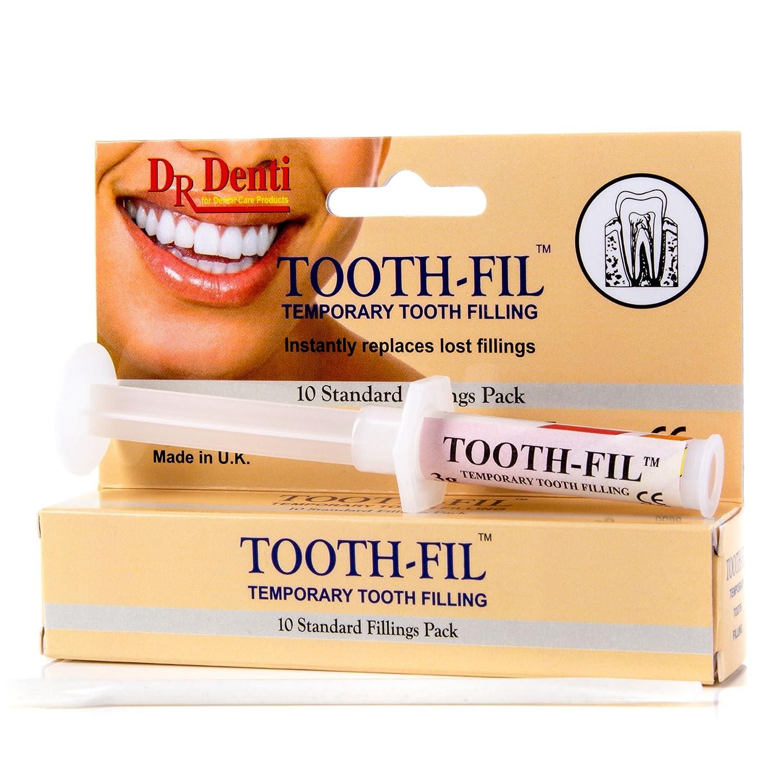 Dr Denti Tooth Fill 3g Temporary Filling Dental Hole Filler Repair