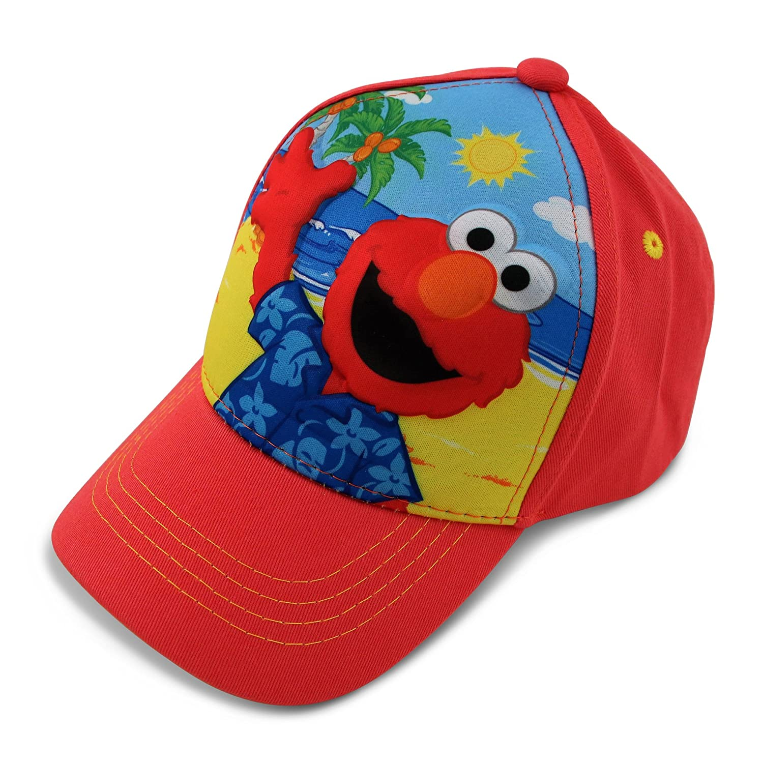 Sesame Street Boys' Baseball Cap Red One-Size SXS70684ST