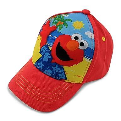 a94367ee Elmo Boys Cap 3D Pop Design on Front Red