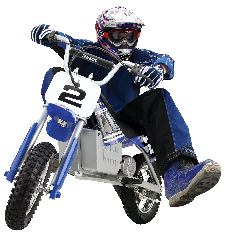 Amazon.com: Razor MX350 Dirt Rocket Electric Motocross Bike: Sports ...