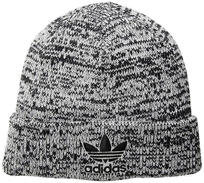 quality design eabf4 98e06 Image Unavailable. Image not available for. Color  Adidas Men s Originals  Trefoil II Knit Beanie ...