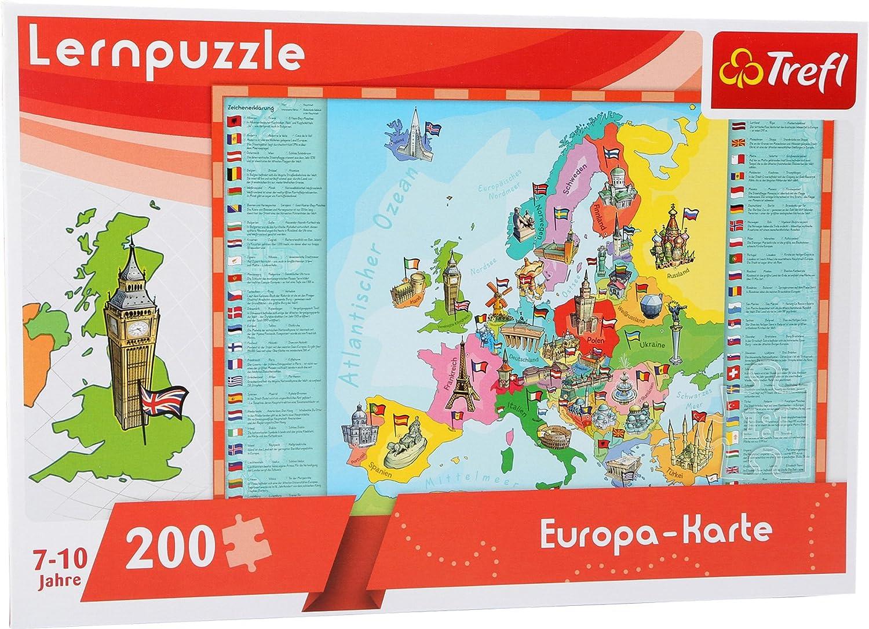 Geografie Amigo GeoPuzzle Welt Lernspiel Kinderpuzzle