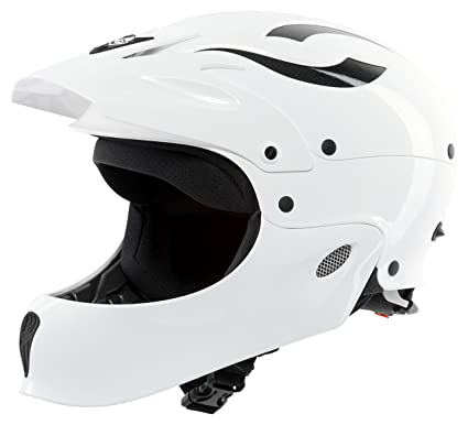 Sweet Protection Rocker Fullface Paddle Helmet, Gloss White, Medium/Large