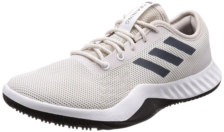 Weiß (Weiß   Grau Weiß   Grau) adidas Herren Crazytrain Lt Fitnessschuhe, Schwarz 50.7 EU