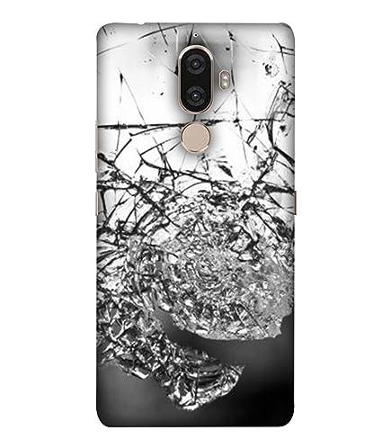 Fusion Designer Back Case Cover for Lenovo K8 Plus: Amazon