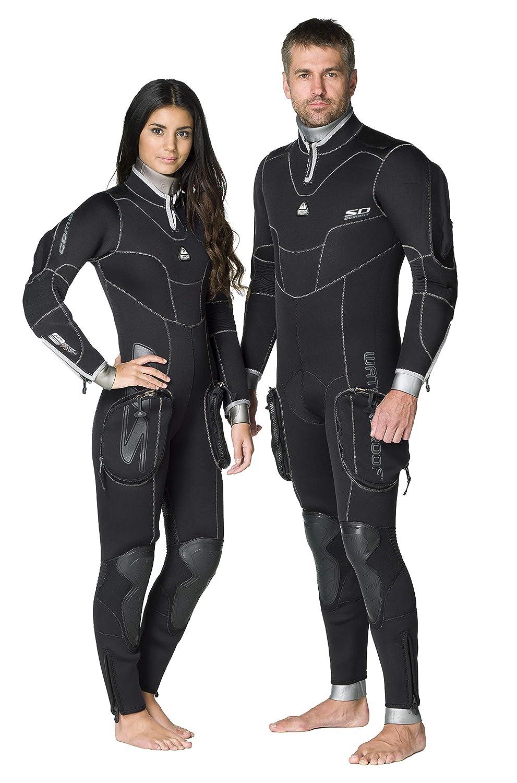 WATER PROOF FACING REALITY Waterproof Mens SD Combat 7mm Semi-Dry Wetsuit, Medium