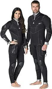 Amazon.com: Waterproof Mens SD Combat 7mm Semi-Dry Wetsuit ...