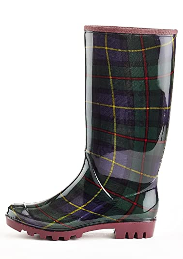 Amazon.com | Henry Ferrera Womens Fur Lined Rain Boots | Rain Footwear