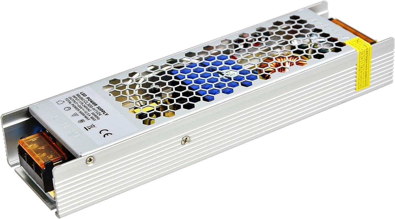 Daxpoo Tira De Led Fuente De Alimentación 24v Voltio 300W Raya Transformador Iluminación Controlador DC Adaptador (CL300-DP24)