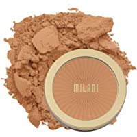 Milani Silky Matte Bronzing Powder - Sun Tan (0.34 Ounce) Vegan, Cruelty-Free Bronzer - Shape & Contour Face with a Full…