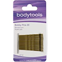 Body Tools Hair Bobby Pins 20 Pack, Blonde