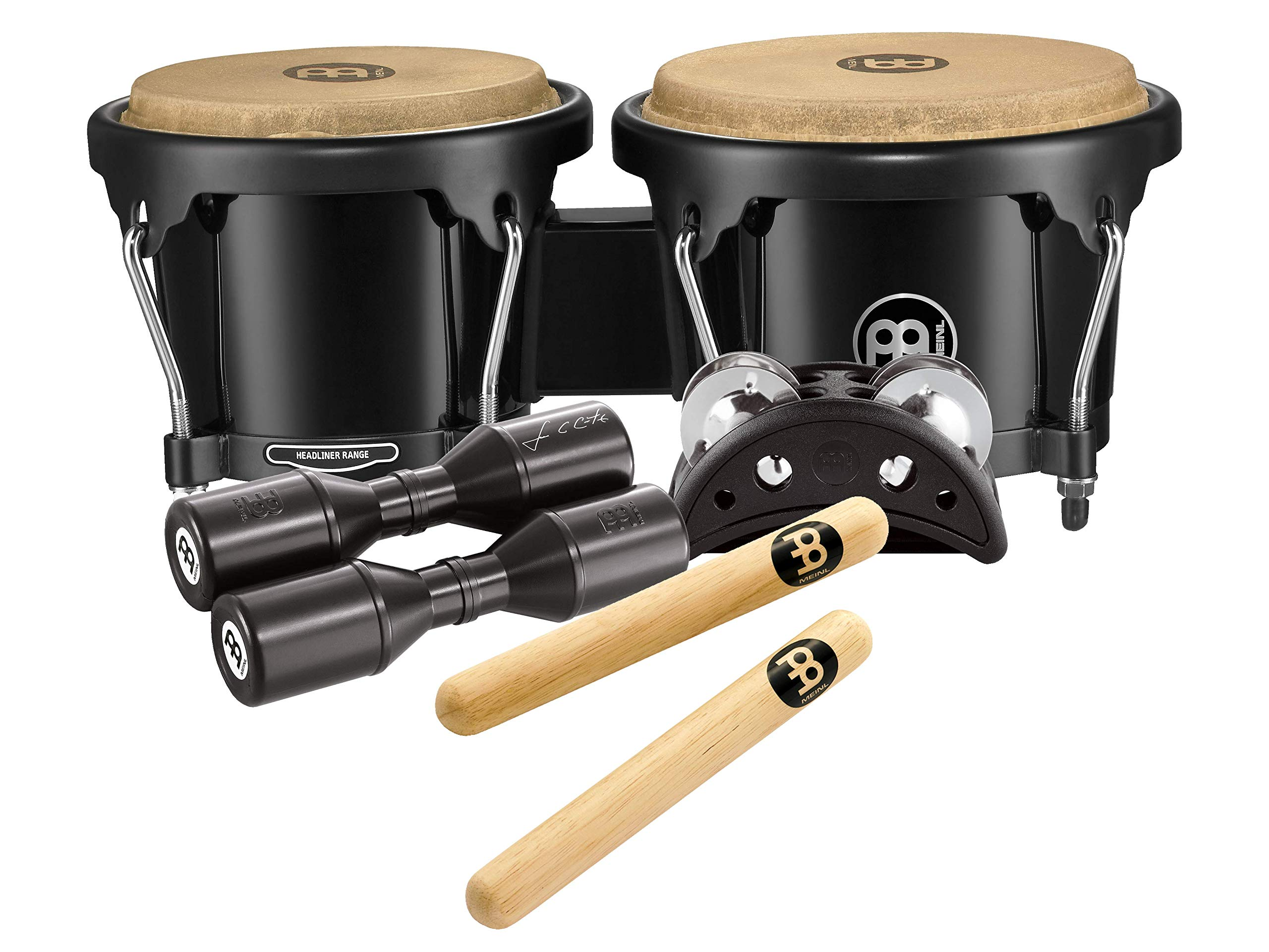 Meinl Percussion BPP-1 Bongo and Percussion Pack for Jam Sessions or Acoustic Sets by Meinl Percussion