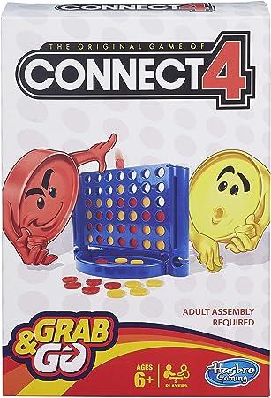 Hasbro Gaming Conecta 4 Juego de Viaje, versión inglésa: Amazon.es: Juguetes y juegos