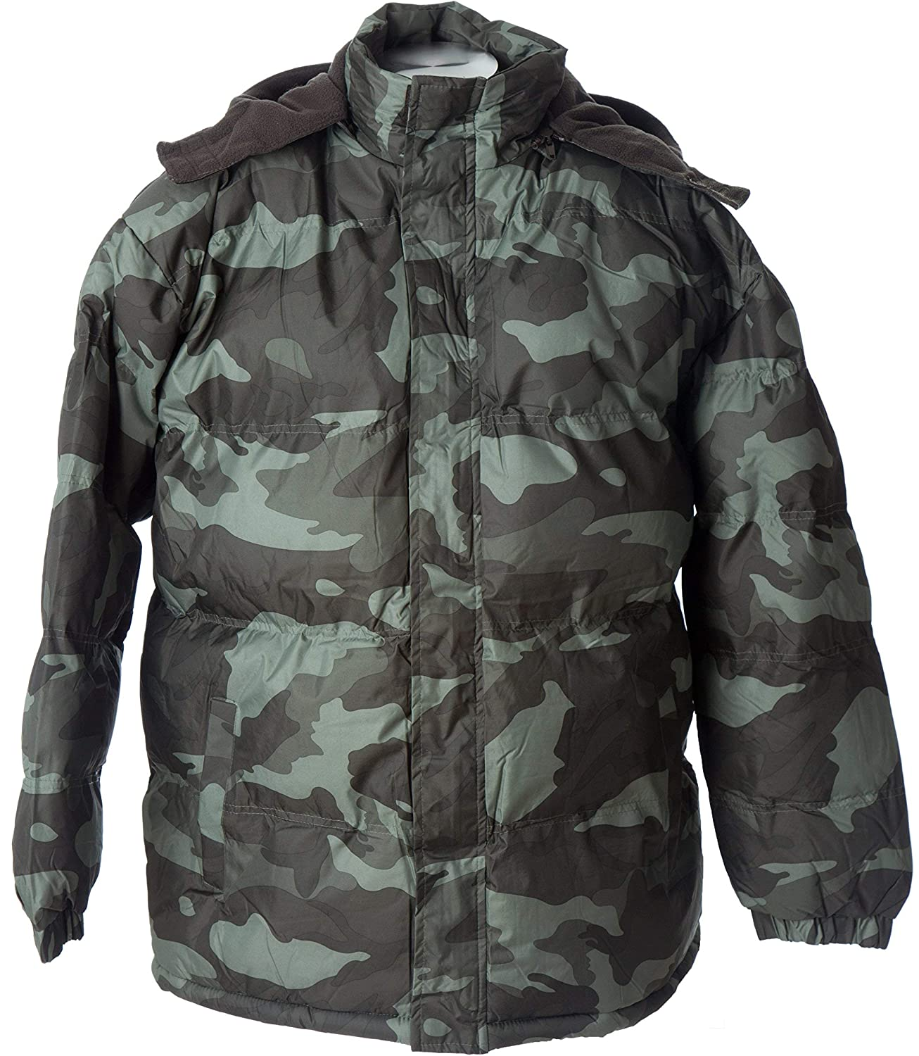 ad4fd34cc1c7d Polar Ice Lion Force Mens' Warm Camouflage Hooded Hunting Jacket Puffer  Winter Coat at Amazon Men's Clothing store: