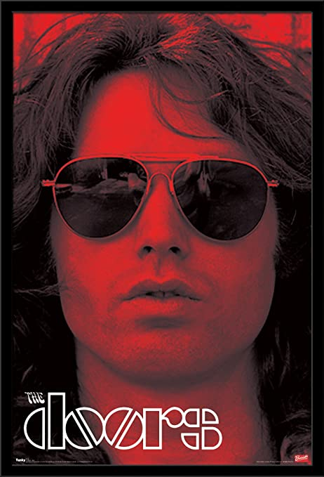 Amazon.com: Trends International The Doors Red Wall Poster 22.375\