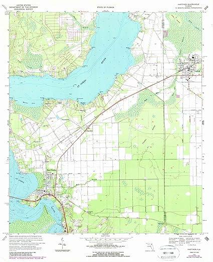 Amazon.com: Florida Maps | 1968 Hastings, FL USGS Historical ...