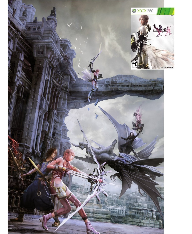 Amazon com: Final Fantasy XIII-2 - Xbox 360: Video Games